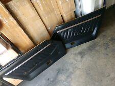 Datsun 11.76 -78 280Z Coupe OEM Black Door Panels (2x, Left & Right)
