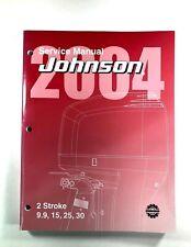 2004 Johnson Service Manual SR 2 Stroke9.9 15 25 30 HP Outboard Motor 5005638