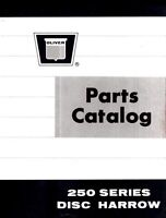 Oliver 250 Series 251 252 253 Disc Harrow Parts Manual