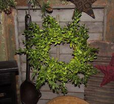 "Primtive 9"" Lemon Beauty Artificial Plant Fake Foliage Wreath Floral Candle Ring"