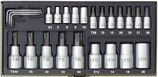 Proxxon 23102 TX-Steckschlüssel-Spezialsatz, 24-teilig