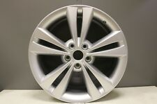 "1 x GENUINE ORIGINAL SKODA OCTAVIA 1Z 18"" TWIN SPOKE SILVER ALLOY WHEEL 1Z0"