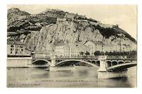 CPA 38 Isère Grenoble Pont de l'esplanade La Manutention et les Forts