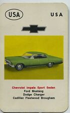 Chevrolet Impala Sport Sedan USA Kwartet card/Quartet card/Spielkarte