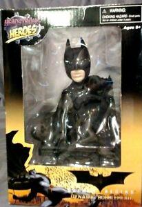 RARE 2005 HEADSTRONG HEROES BATMAN BEGINS DYNAMIC BOBBLE HEAD, MONOGRAM MIB