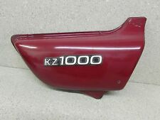77-78 KAWASAKI KZ1000A KZ1000 KZ 1000 RIGHT RH SIDE COVER W/ EMBLEM 36007-058