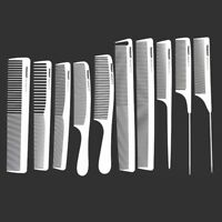 Hot Haircut Hair Salon Styling Barber Comb Kit Professional Combs Hairdressing