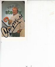 ANTHONY WORRALL THOMPSON T V CHEF SIGNED PHOTO CARD