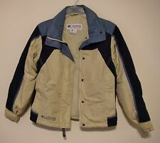 Columbia Woman's Jacket Blue/Beige Small Pre-Owned