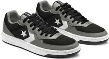 Converse Mens Rival Ox Shoes Basketball Black Gray 164893C Size 10.5