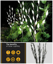 3 x 60cm Garden LED Twig Lights Solar Tree Lights Decor Lighting Outdoor Lamp