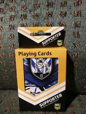 NRL Canterbury Bankstown Bulldogs Playing Cards - Jersey Football