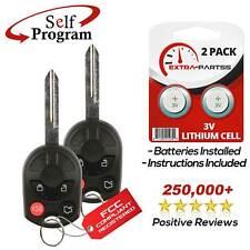 2 For 2005 2006 2007 2008 2009 2010 2011 2012 2013 2014 Ford Escape Key Remote
