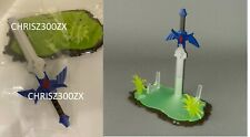 The Legend of Zelda Link's Awakening Nintendo 2DS XL Hylian Sword Display Stand
