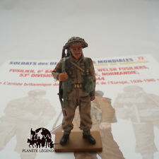Figurine Del Prado plomb Fusilier Britannique Royal Welsh Normandie 1944 Figuren