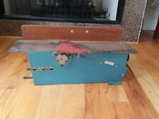 VINTAGE Kress Cromby Lectric Benchtop Wood Plane RARE Germany