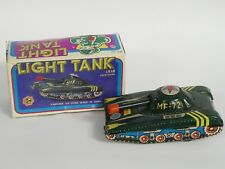 "Vintage Army Light Tank Tin Friction Toy Mf-721 China ~ 6"""