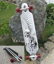 "Longboard 41 Freeride Skeleton Eagle Long Board ""Hohe Qualität"" 43068"