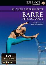 Michelle Merrifield's Barre Fitness : Volume 2 (DVD, 2015) BRAND NEW SEALED