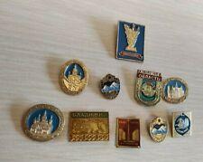 Badges comunism lenin Russia political Red October medal USSR Badge