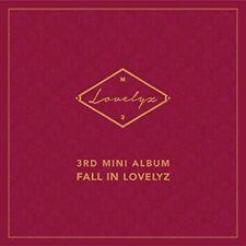 LOVELYZ-FALL IN LOVELYZ (3RD MINI)  (UK IMPORT)  CD NEW
