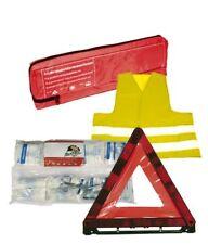 Auto Verbandstasche mit Klettband Verbandskasten Warnweste Warndreieck KFZ NEU