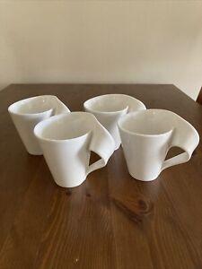 Villeroy & Boch New Wave Mugs X 4