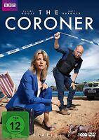 THE CORONER - STAFFEL 2 - GOSSE,CLAIRE/BARDOCK,MATT/GOMM,OLIVER  3 DVD NEU