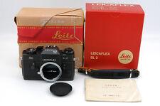 [Rare] Leica Leicaflex SL2 Black Body 50 JAHRE(162-C) & BOX -NearMint (L-24)