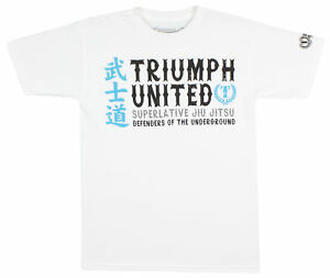Triumph United Mens Bushido T-Shirt - White
