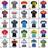 2021 Men's Cycling Short Sleeve Jersey Bicycle Bike Race Shirt Team Clothes Tops