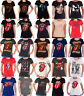 Official The Rolling Stones T Shirt Womens tongue band logo new skinny fit