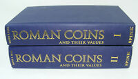 Lot 2 livres ROMAN COINS and Their Values 2002 David R.SEAR Spink 2 Tome Monnaie