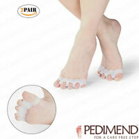 PEDIMEND Gel Toe Separators / Straighteners / Stretchers For Bunion (2PAIR) - UK