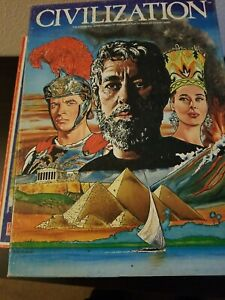 Avalon Hill Civilization board game,  punched, good condition