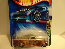 2004 Hot Wheels Treasure Hunt #105 Brown Super Smooth Truck w/ Real Riders
