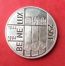 Luxembourg -  Superbe monnaie de 250 Francs 1994  En Argent  - Bénélux