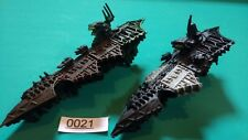 2x Chaos Cruiser - Battlefleet Gothic - Plastic - Chaos Fleet - Styx Devastation