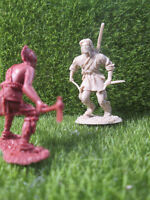 👍 Barzso*Last of the Mohicans Playset HAWKEYE 54mm Marx size 1:32 toy soldier🌟