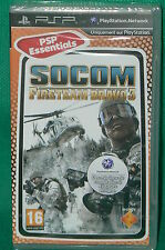 PSP jeu NEUF sous cello scellé SOCOM FIRETEAM BRAVO 3 new sealed PLAYSTATION
