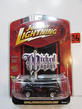 JOHNNY LIGHTNING WICKED WAGONS '50 CHEVY PANEL VAN