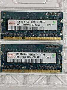 Hynix Korera 05 1GB 2rx16 PC3-8500s-7-10-A1 DDR2 800 Mhz SODIMM Laptop Memory