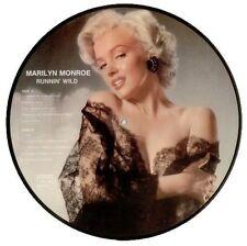 MARILYN MONROE - RUNNIN' WILD - PICTURE DISC LP - DENMARK IMPORT - 1985