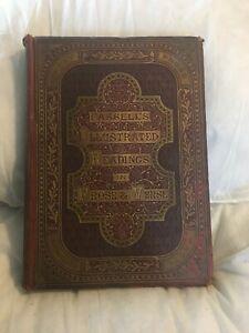 Cassells Illustrated Readings In Prose & Verse Poetry Vintage Hardback Book