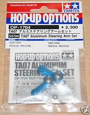 Tamiya 54704 TA07 Aluminum Steering Arm Set (TA07 Pro/TRf419/TRF419X), NIP