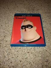 Disney/Pixar: The Incredibles (Blu-ray, 2016, 2-Disc set + Digital Hd)