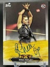 2020 Topps WWE NXT #A-RH Rhea Ripley Rookie Card RC Autograph Card