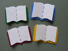 Big Open Book Books Revision Library School Reading Award Die Cuts