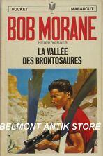 Bob Morane n°1014 - La vallée des Brontosaures - Henri Vernes - Pocket Marabout