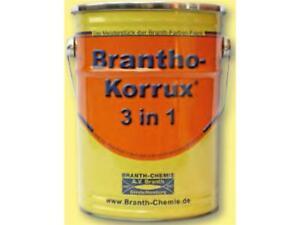 """Brantho Korrux """"3 in 1"""" 5 Liter MB3575 Ochsenblut (21,80 EUR pro l)"""